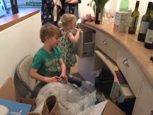 Even the kids behaved - sort of!